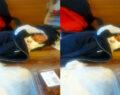 Alüminyum folyoya sarılmış 3 günlük bebek bulundu