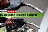 Benzin fiyatlarına yeni indirim geliyor