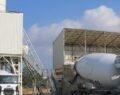 Büyükşehir'de beton santrali üretime başladı