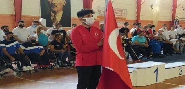 Urfalı Abdulsamet Türkiye'de ikinci oldu