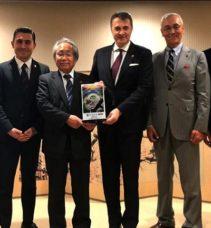 Başkanı Orman Japonya'da