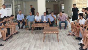 Karaköprü belediyespor bayramlaştı