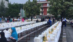 Eyyübiye belediyesi Bosna'da iftar verdi
