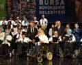 Engelli solistler gönüllerde taht kurdu