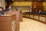 Meclis işe üye seçim i ile başladı