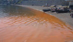 Bursa'da denizin rengi neden kahverengi?