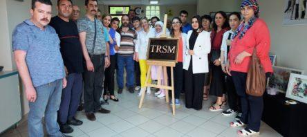 Toplum ruh sağlığı merkezi'nde sergi heyecanı