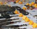 Çok sayıda mühimmat ele geçirildi: 22 gözaltı