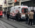 İstiklal Caddesi'nde ceset şoku