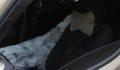 Arabada ceset polisi alarma geçirdi