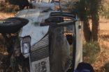 Çeyiz götüren araç kaza yaptı ağır yaralılar var