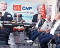 CHP'de ilçe başkanları ile toplantı gerçekleştirildi