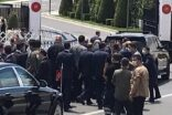 Cumhurbaşkanı Erdoğan'nın pandemi sürecinden sonra ilk Cuma namazı
