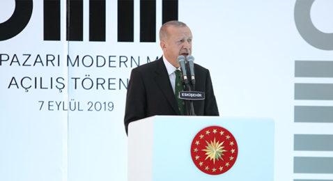 Cumhurbaşkanı Erdoğan: 29 Ekimde açılacak
