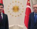 Cumhurbaşkanı Erdoğan IKBY Başkanı Barzani'yi kabul etti