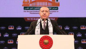 """""""Filistin'deki bir avuç Müslümanın değil, hepimizin ortak davasıdır"""""""