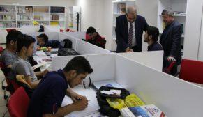 Demirkol'dan kpss adaylarına moral ziyareti