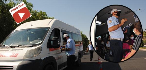 Şanlıurfa'da okul servis araçları denetlendi