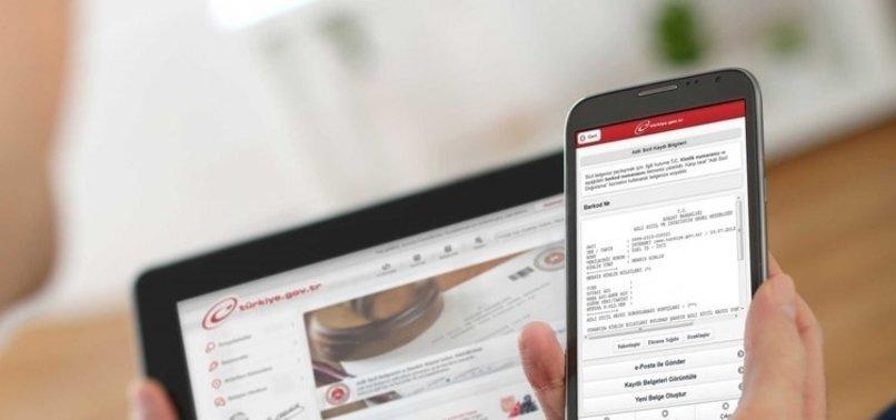 Bir ayda 2 milyon kişi e-Devlet'te miras sorguladı