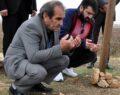 Şehit babasının mezarına 58 yıl sonra kavuştu
