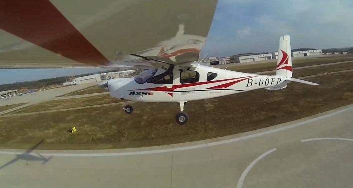 Elektrikli uçağın ilk uçuşu