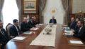 Cumhurbaşkanlığı Politika Kurullarının başkan vekilleri külliyedeydiler