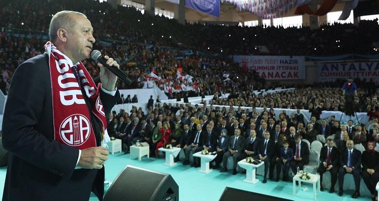 Antalya adaylarını Tanıttı