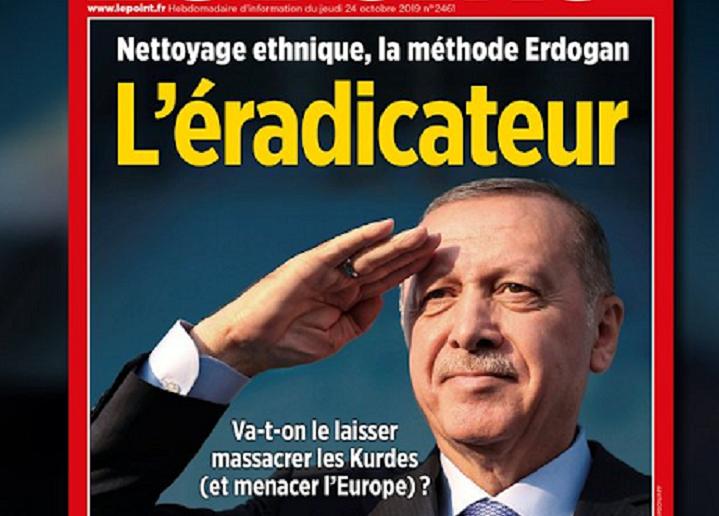 Cumhurbaşkanı Erdoğan'dan Le Point dergisi hakkında suç duyurusu
