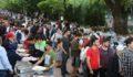 Eskişehirspor taraftar birliği iftarına rekor katılım