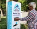 Eyyübiye'de dezenfekte istasyonları kuruluyor