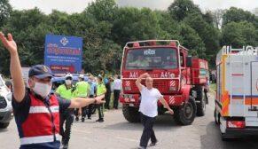Havai fişek fabrikasında patlama: 3'ü ağır 11 yaralı