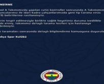 Fenerbahçe'li oyuncularda Korona belirtileri