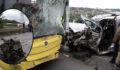 Feci kaza: 1 ölü, 1 ağır yaralı