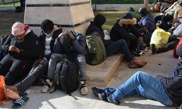 46 göçmen yakalandı