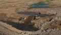 Şanlıurfa Uzunca Göleti'nde çalışmalar devam ediyor