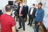Gülüm, Siverek Devlet Hastanesini ziyaret etti