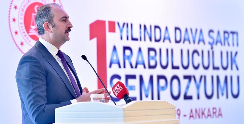 Adalet Bakanı Gül: Nöbetçi noterlik uygulamasına çalışıyoruz