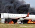 Şanlıurfa'da uçak yangını tatbikatı
