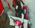 Urfa'da üniformalı hırsız kamerada