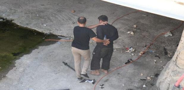 Şanlıurfa'da hırsız suçüstü yakalandı