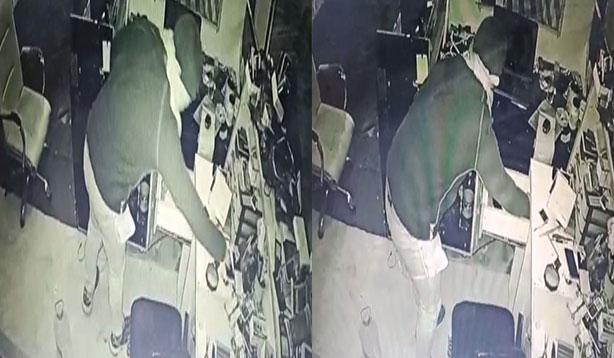 Suruç'ta cep telefonu hırsızlığı kamerada