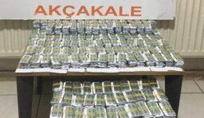 Urfa'da 25 bin 500 adet uyuşturucu hap ele geçirildi