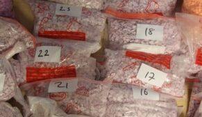 Tırda 135 bin uyuşturucu hap ve 2 kilo kokain ele geçirildi