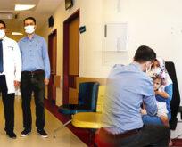 Harran Üniversitesi Hastanesinde o poliklinik hizmete girdi