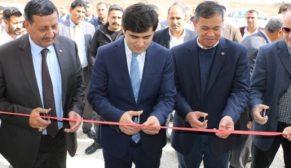 Harran'da jimnastik salonu açıldı