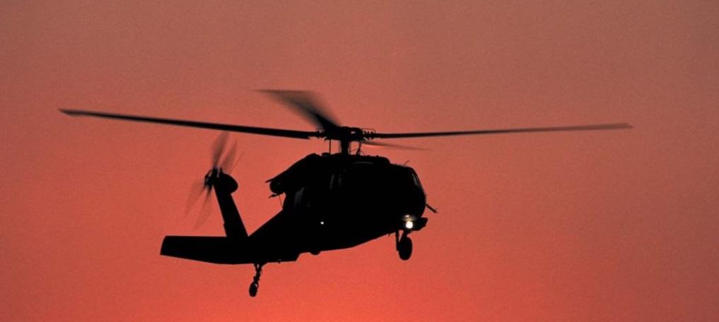 Helikopter düştü: 13 ölü, 15 yaralı
