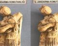 Roma dönemine ait kadın heykeli ele geçirildi