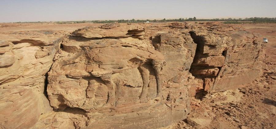 2 bin yıllık deve heykelleri keşfedildi