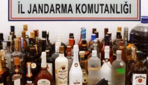 Tonlarca kaçak içki ele geçirildi