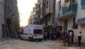 Şanlıurfa'da inşaat iskelesi çöktü: 5 yaralı